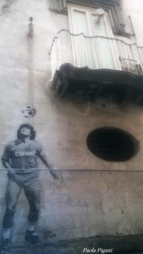napoli,mondial de foot, Sénégal-Russie, Maradona