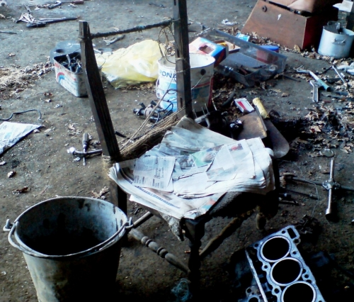 la chaise de van gogh,la boucherie litteraire,antoine gallardo